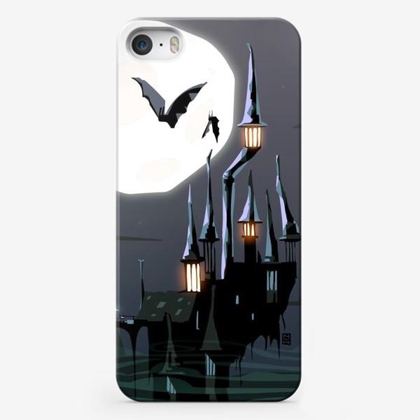 Чехол iPhone «Замок Дракулы»