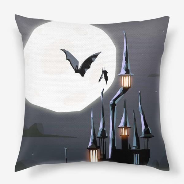 Подушка «Замок Дракулы»