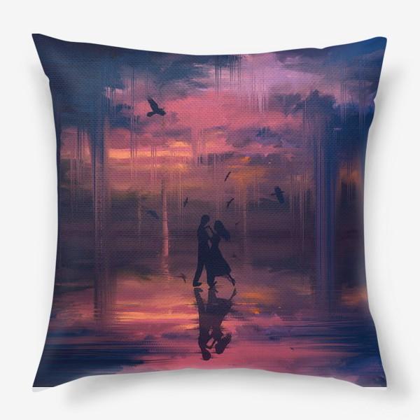 Подушка «Тающее небо»