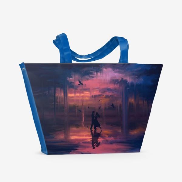 Пляжная сумка «Тающее небо»