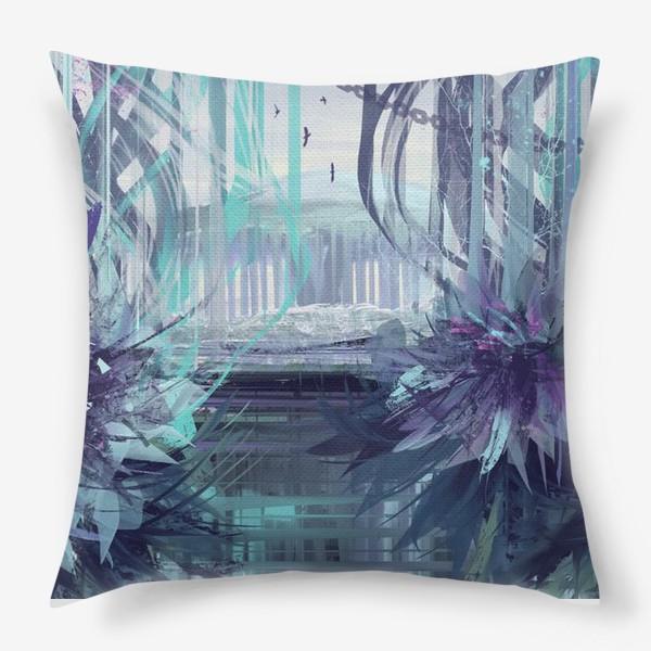 Подушка «Синие сны»