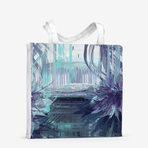 Сумка-шоппер «Синие сны»