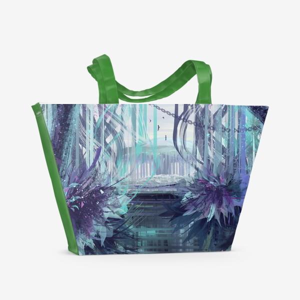 Пляжная сумка «Синие сны»