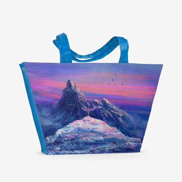 Пляжная сумка «На краю обрыва»