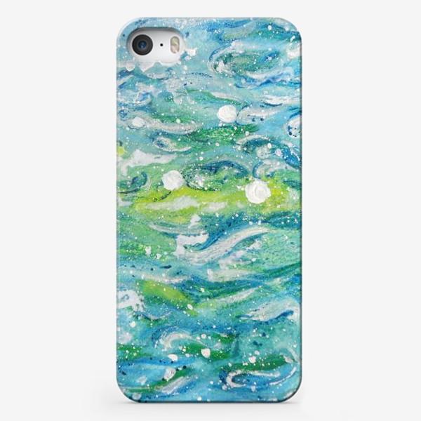 Чехол iPhone «Волны. Абстракция.»