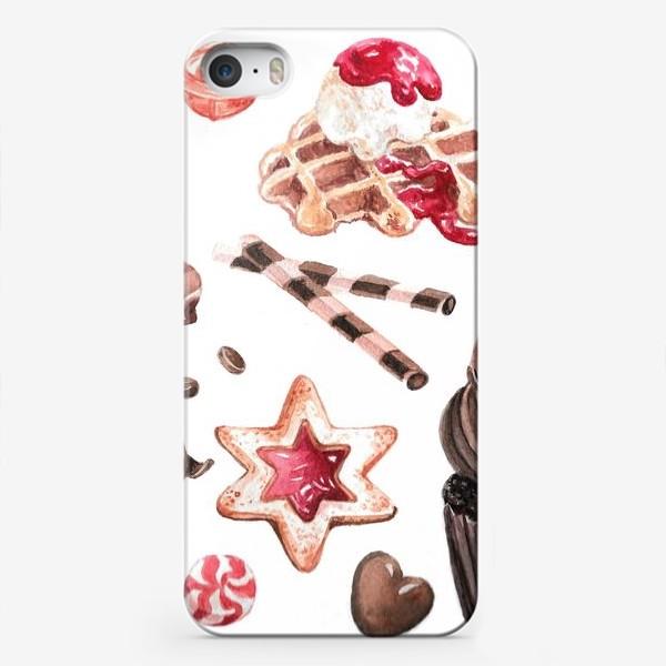 Чехол iPhone «Сладости»