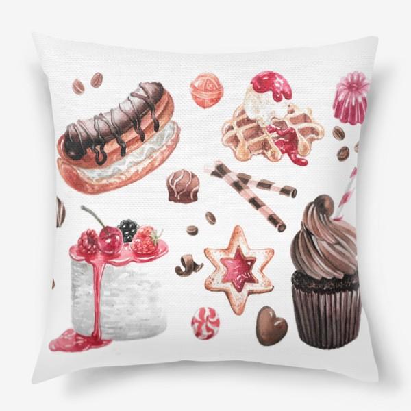 Подушка «Сладости»