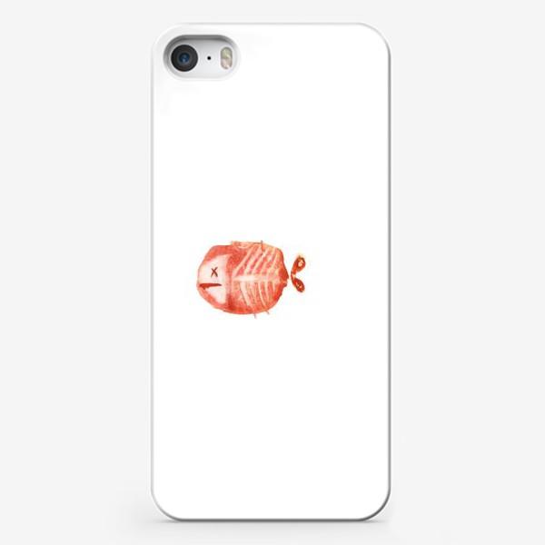 Чехол iPhone «Рыбкин»