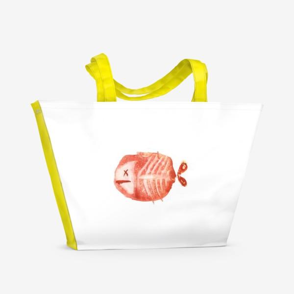 Пляжная сумка «Рыбкин»