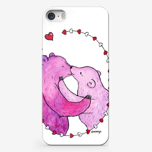 Чехол iPhone «Поцелуй»