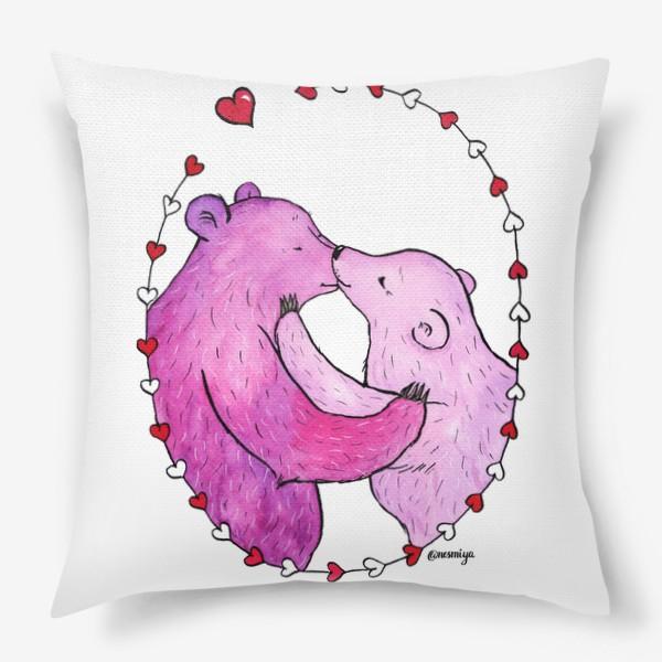 Подушка «Поцелуй»
