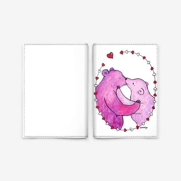 Обложка для паспорта «Поцелуй»
