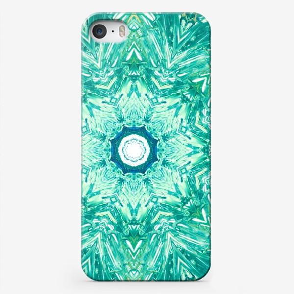 Чехол iPhone «Sea Art Mandala»