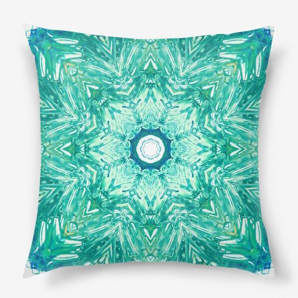 Подушка «Sea Art Mandala»