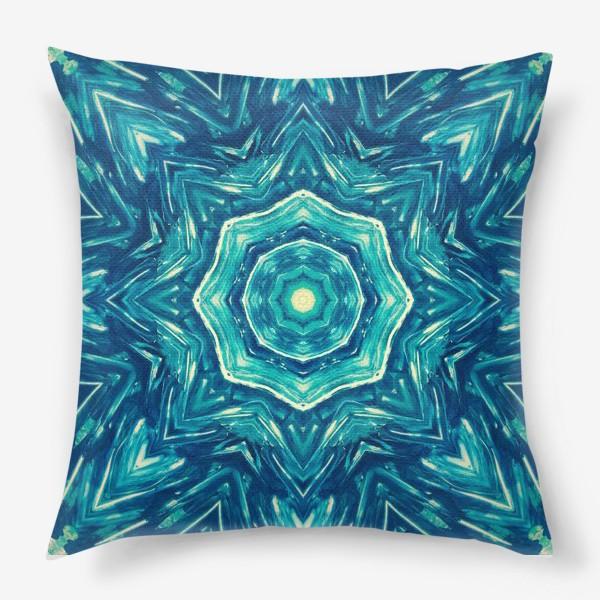 Подушка «Watercolor Art Mandala»