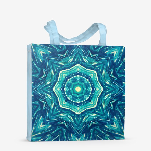 Сумка-шоппер «Watercolor Art Mandala»