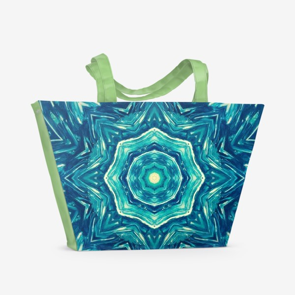 Пляжная сумка «Watercolor Art Mandala»