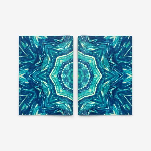 Обложка для паспорта «Watercolor Art Mandala»