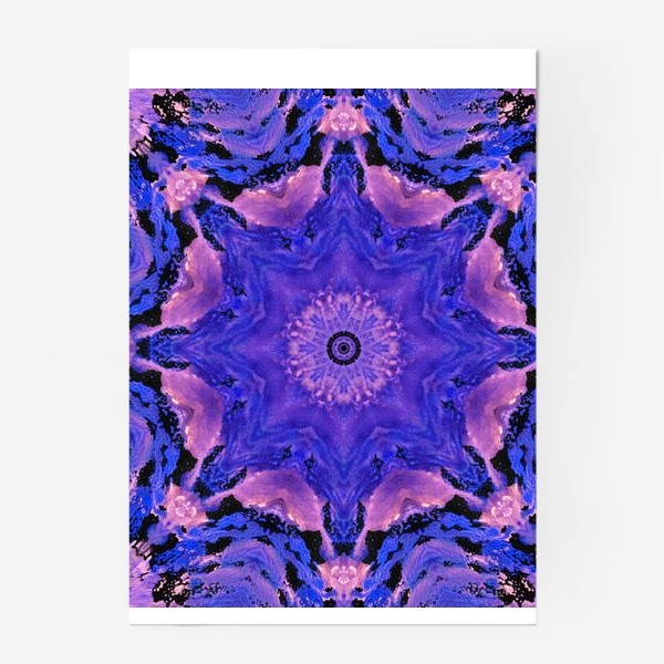 Постер «Purple Mandala 1»