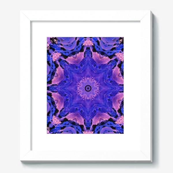 Картина «Purple Mandala 1»