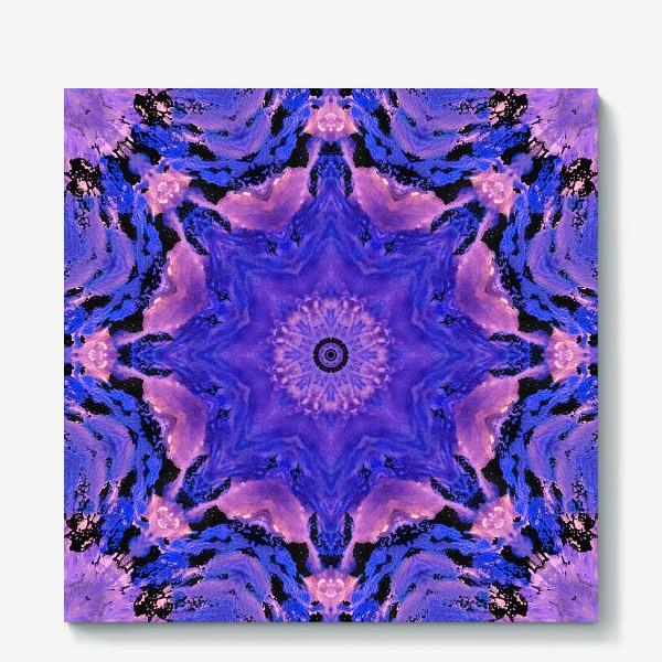 Холст «Purple Mandala 1»
