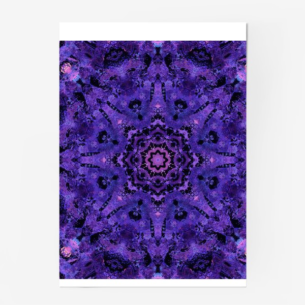 Постер «Purple Mandala 2»