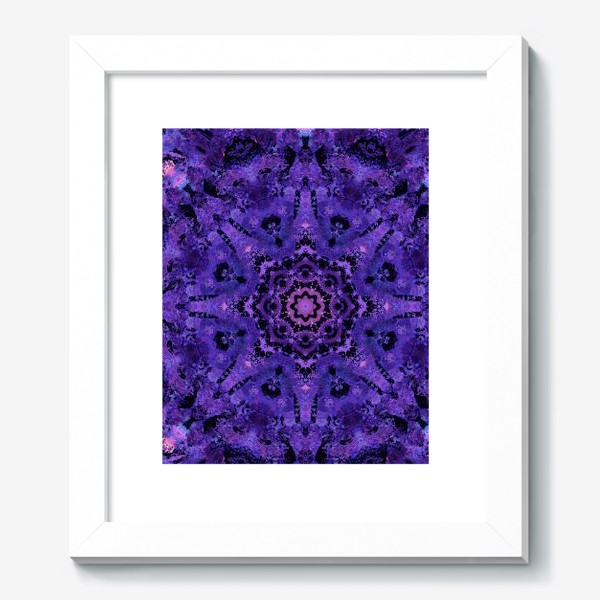Картина «Purple Mandala 2»