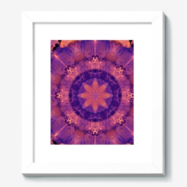 Картина «Purple Mandala 3»