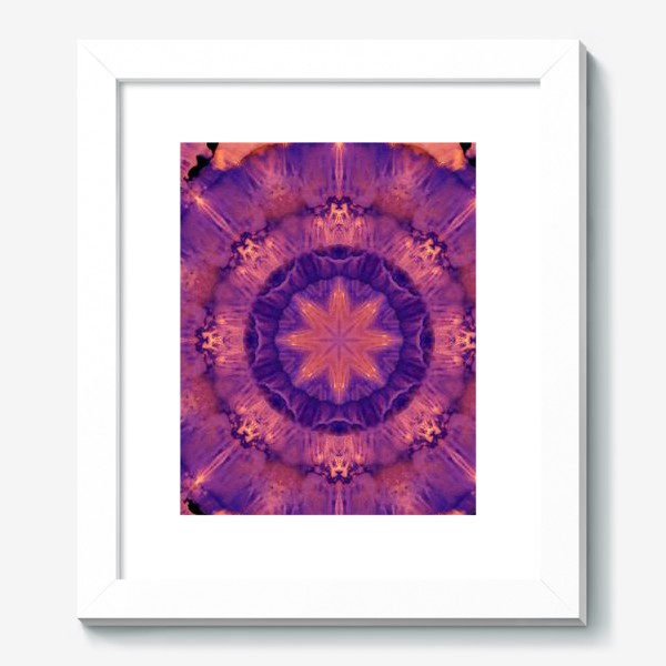 Картина «Purple Mandala 3»