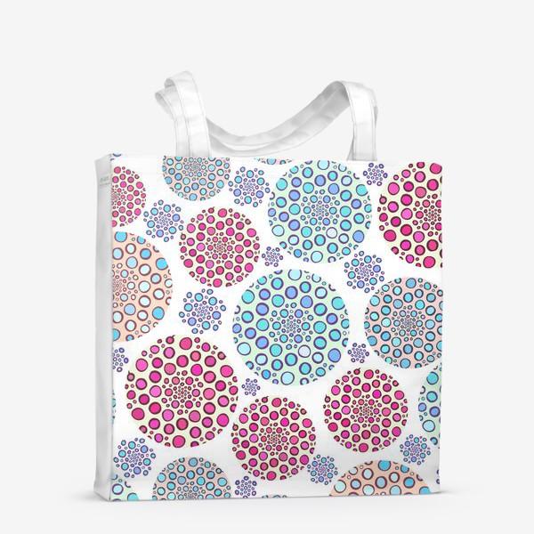 Сумка-шоппер «Драгоценные пузырьки »