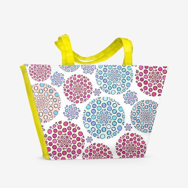 Пляжная сумка «Драгоценные пузырьки »