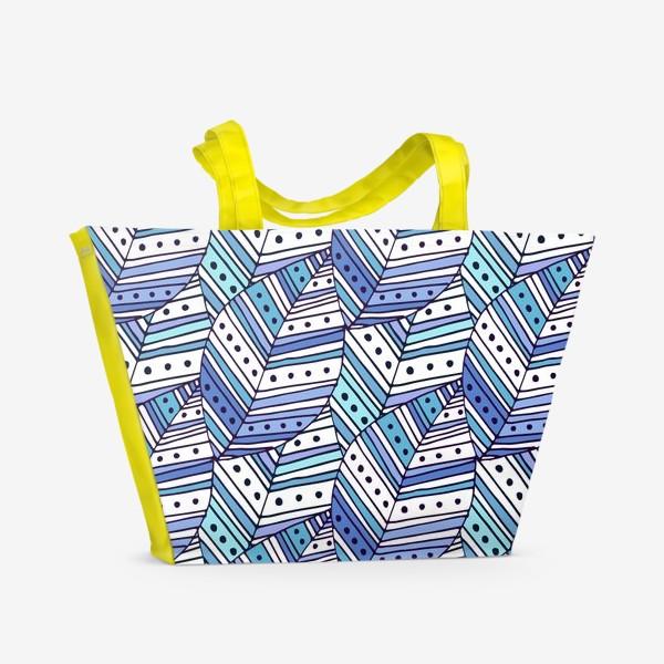 Пляжная сумка «Этника осени»
