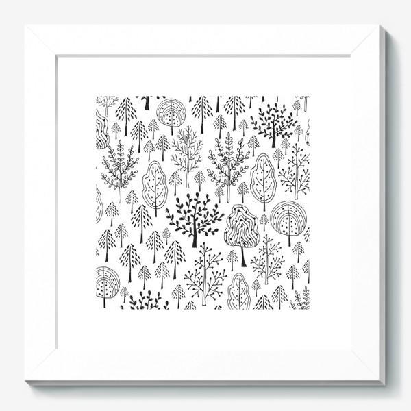 Картина «Деревья сказочного леса»