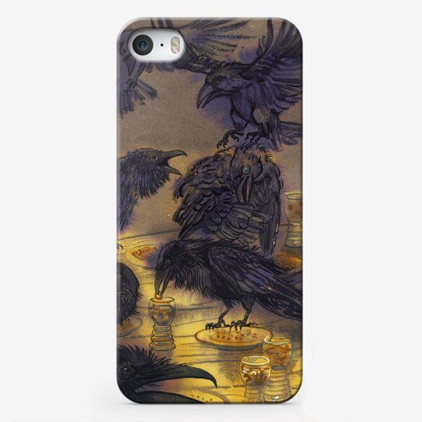 Чехол iPhone «Семь воронов.»