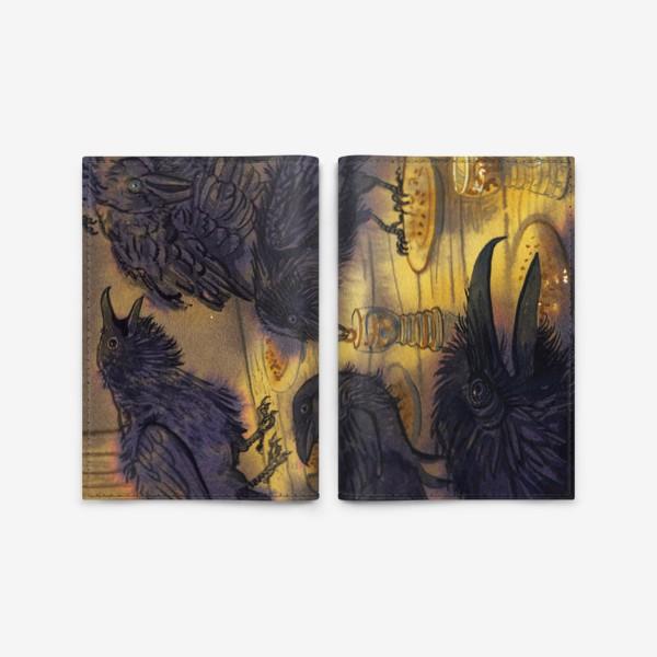 Обложка для паспорта «Семь воронов.»