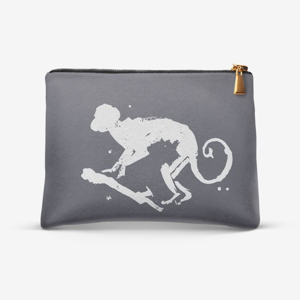 Косметичка «обезьяна на ветке»