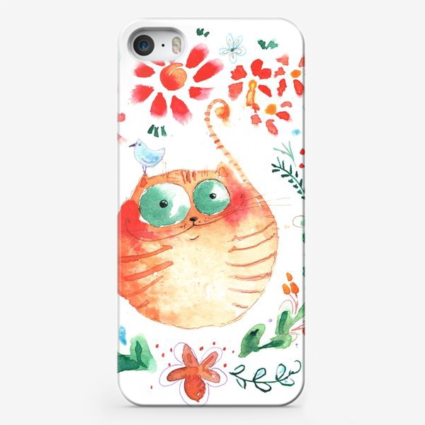 Чехол iPhone «Рыжий кот»