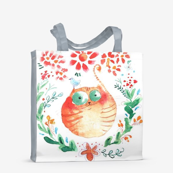 Сумка-шоппер «Рыжий кот»