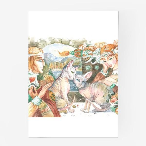 Постер «принцы и принцессы»