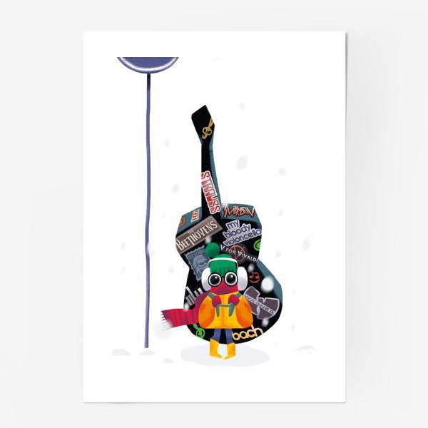 Постер «Юный музыкант»