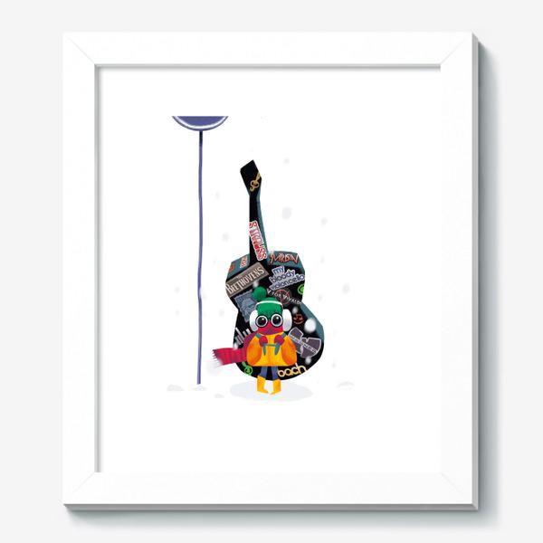 Картина «Юный музыкант»