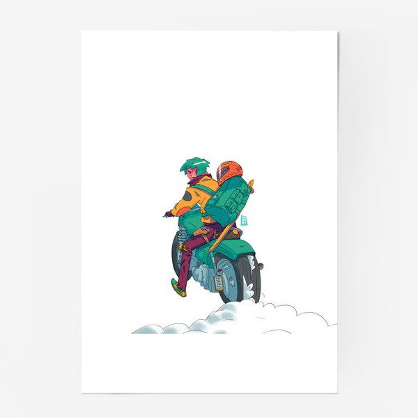 Постер «Байкер»