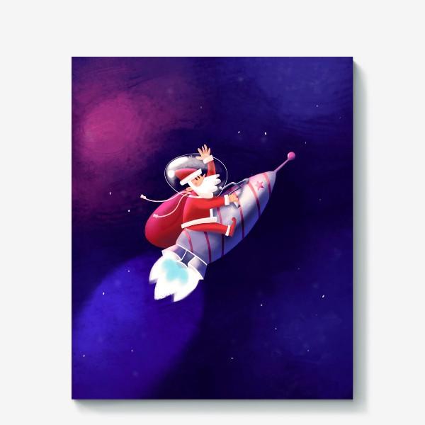 Холст «Дед Мороз»