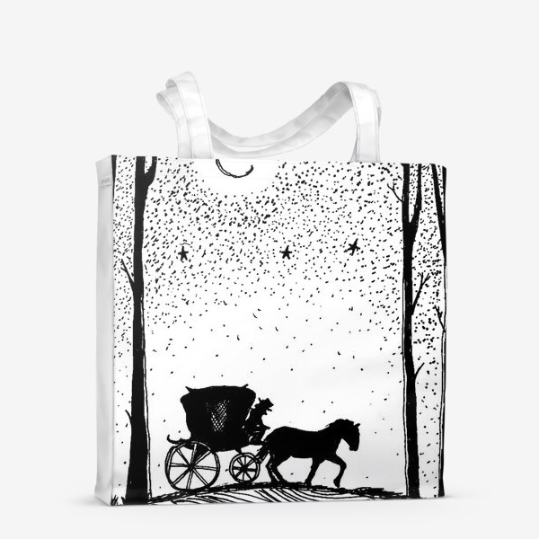 Сумка-шоппер «Лошадь»