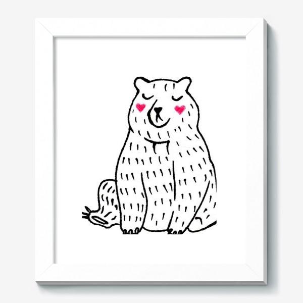 Картина «Скромный мишка»
