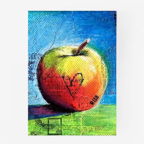 Постер «Яблочное яблоко»