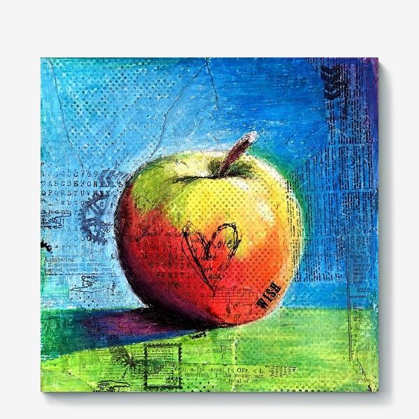 Холст «Яблочное яблоко»