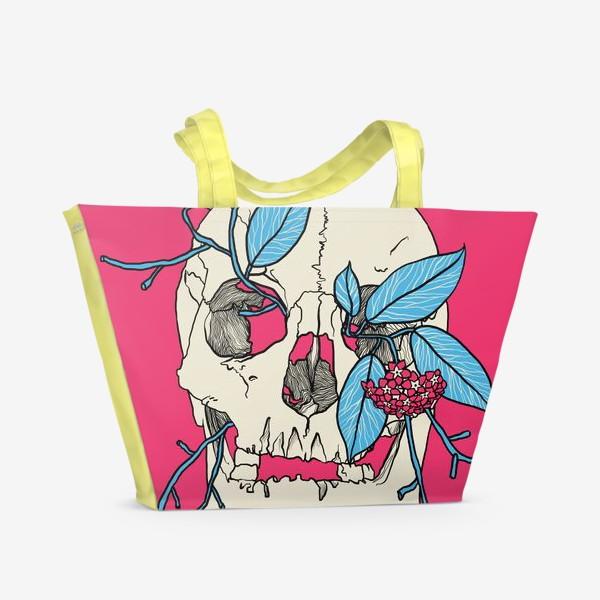 Пляжная сумка «Skull»