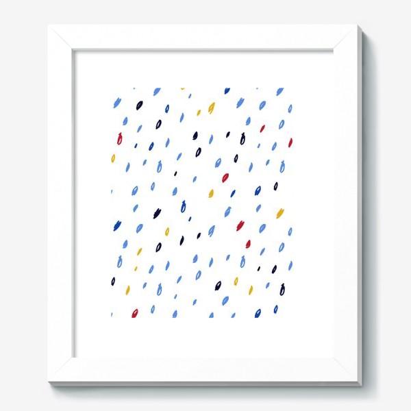 Картина «Абстрактный паттерн со штрихами»