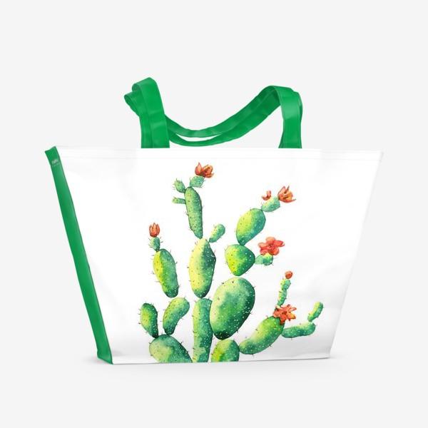 Пляжная сумка «Кактус»